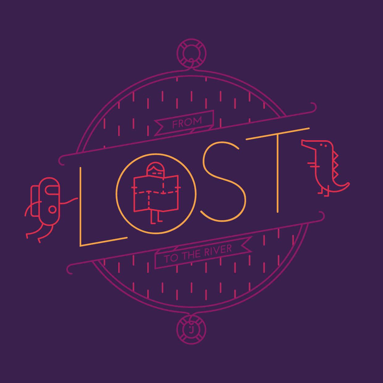 Camiseta From lost to the river